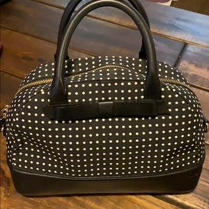 Kate Spade ♠️ Leather and Canvas Tote